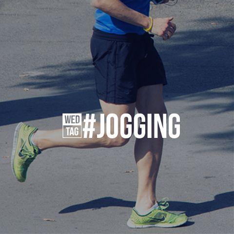 daily hashtag jogging