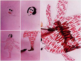 drawing doodle joker