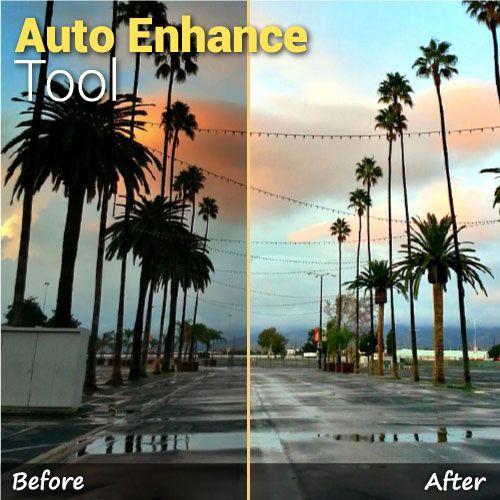 auto enhance editing tool