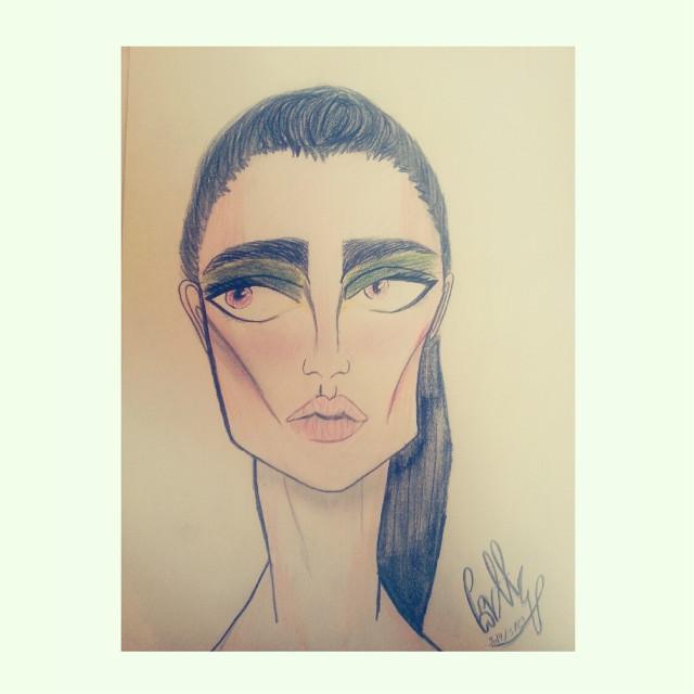 (°●°) #art #color #eyebrows