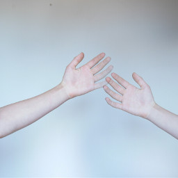 photography hands touch