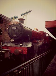 harrypotter train vintage
