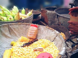 corn photography colorful food