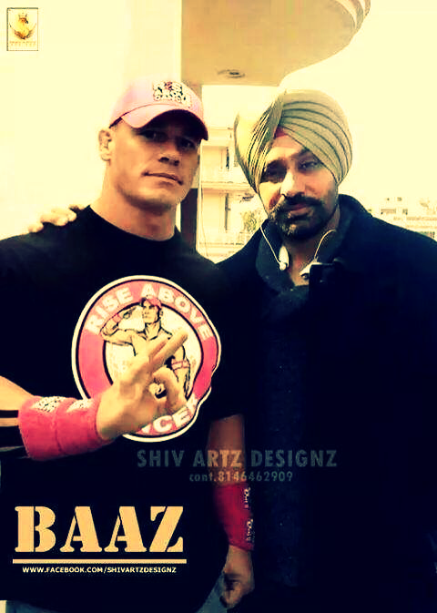 johncena nd Babu mann - Image by Vicky