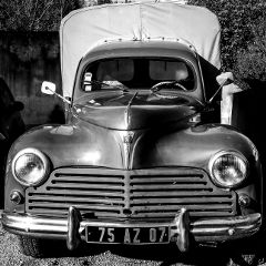 cars blackandwhite photography retro