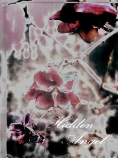 nature winter card popart angel