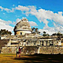 mexico travel arquitecture maya