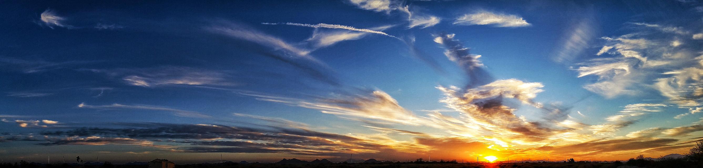 #panoramic #az #sunset