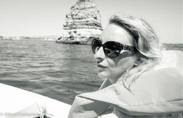 portrait boat rocks sony travel