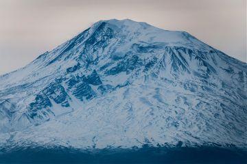 mountain ararat yerevan armenia morning