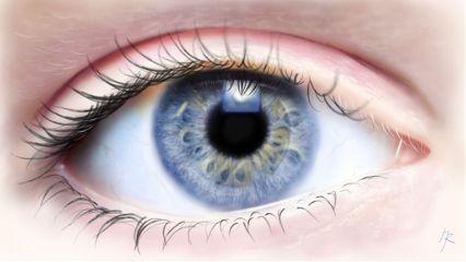 drawing digitaldrawing eye photorealism blueeyes