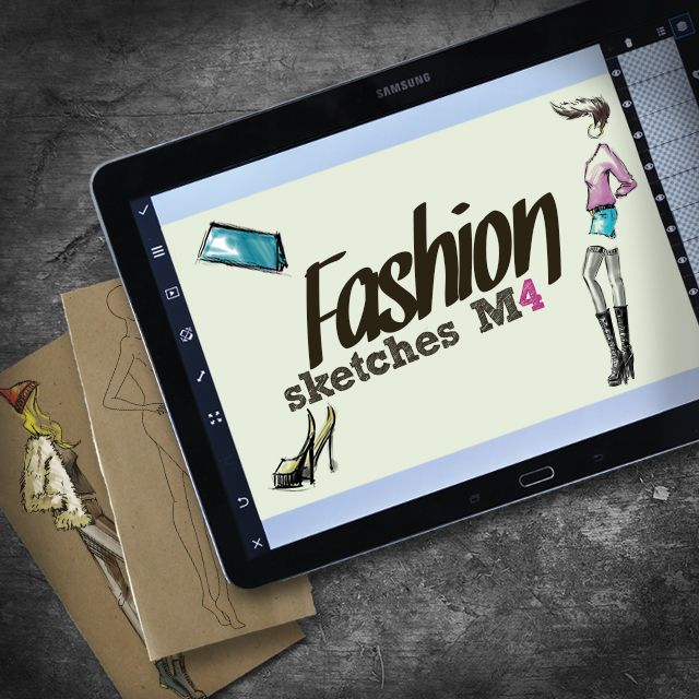fashion M4 clipart